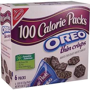 Nabisco® 100-Calorie Snacks, 6 Bags/Box