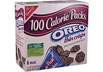 Nabisco® 100-Calorie Oreo Crisps, .81 oz. Bags, 6 Bags/Box