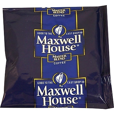 Maxwell House® Master Blend Ground Coffee, Regular, 1.1 oz., 42 Packets