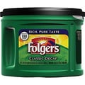 Folgers Classic Roast Ground Coffee, Decaffeinated, 22.6 oz. Can