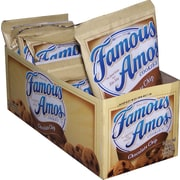 Famous Amos® Chocolate Chip Cookies, 2 oz. Bags, 8 Bags/Box