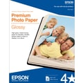 Epson® Premium Photo Inkjet Paper, 8 1/2in. x 11in., High Gloss, 50/Pack