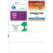 Staples Untabbed Business Card Pages, 10 pack, 10/Pack (15934)