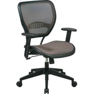 Office Star™ SPACE® Air Grid™ Deluxe Deluxe Mid-Back Mesh Manager's Chair, Latte