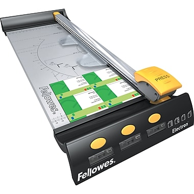 Fellowes® - Coupe-papier Electron 180, 18 po