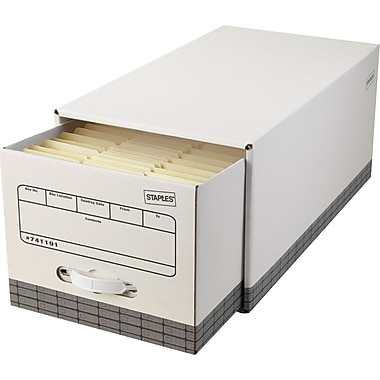 Staples EZ Fold File Drawers, Letter-Size