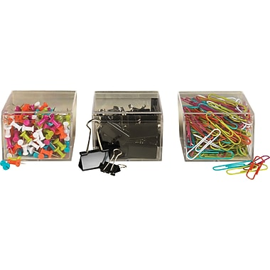 Staples® Assorted Clips & Pins Value Pack