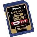 PNY Premium 32GB SD (SDHC) Class 4 Flash Memory Card