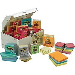 Post-it Treasure Chest ,Of Notes Assorted 10,000 Sheets