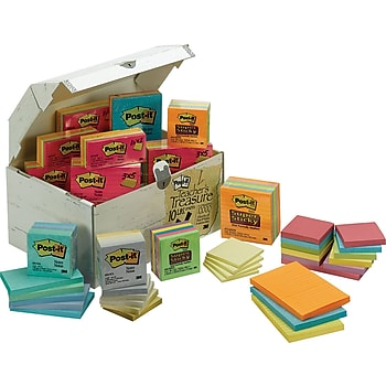 Post-it Treasure Chest Of Notes