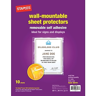 Staples Display Protectors