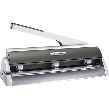 Swingline® Optima® Low Force 2- to 3-Hole Punch, 20 Sheet Capacity