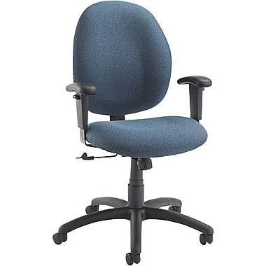 Global Graham Series Olefin Pneumatic Ergo-Tilter Low Back Swivel/Tilt Chairs