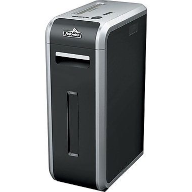 Fellowes Powershred 125i 18-Sheet 100% Jam Proof Strip-Cut Shredder
