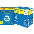 Staples® 50% Recycled Multipurpose Paper, 8 1/2in. x 11in.,Case