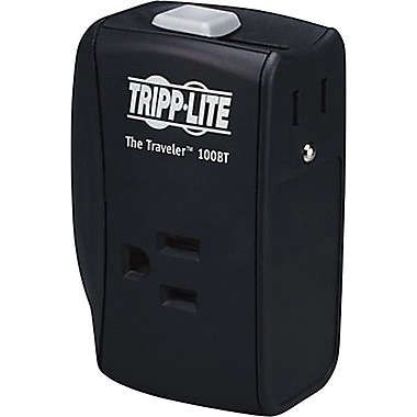 Tripp Lite 2-Outlet 1050 Joule Mobile Surge Protector with Ethernet and Dataline Protection