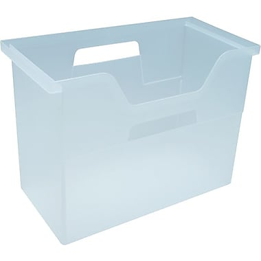 Open Top File Box
