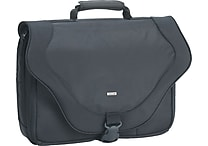 SOLO® Ballistic Poly Laptop Messenger Bag, Black, 17'