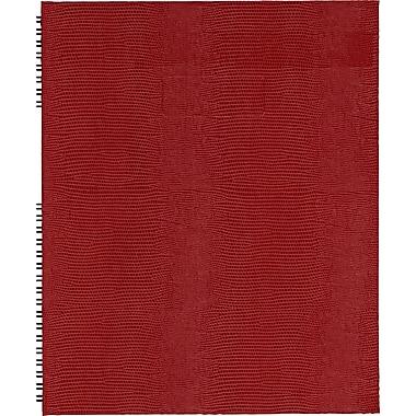 Blueline® - Cahier Notepro à couverture rigide, 10 3/4 po x 8 1/2 po, rouge genre lézard, 150 pages