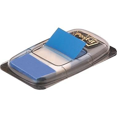 Post-it® - Languettes, 1 po, bleues, paq./50
