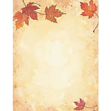 Fall Leaves Stationery and Envelopes