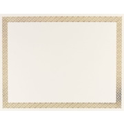 Gold Braided Foil Border Certificate