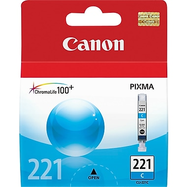 Canon CLI-221C Cyan Ink Cartridge (2947B001)