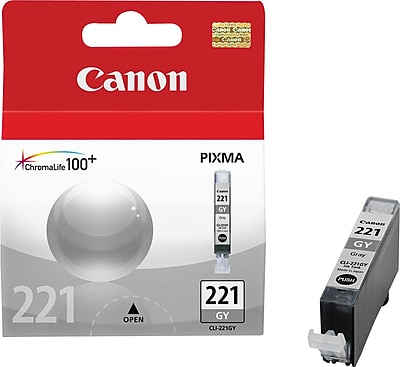 Canon CLI-221GY Gray Ink Cartridge (2950B001) 757281
