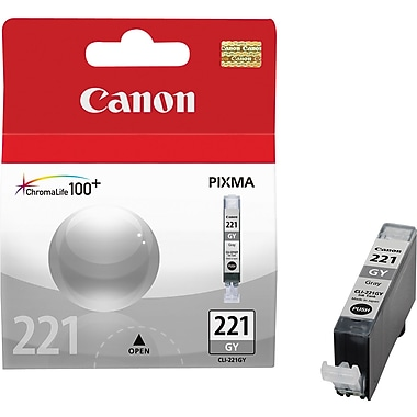Canon CLI-221GY Gray Ink Cartridge