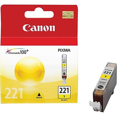 Canon® CLI-221 Yellow Ink Tank (2949B001)