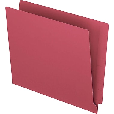 Pendaflex® Reinforced Coloured End-Tab File Folders, Letter Size, Red