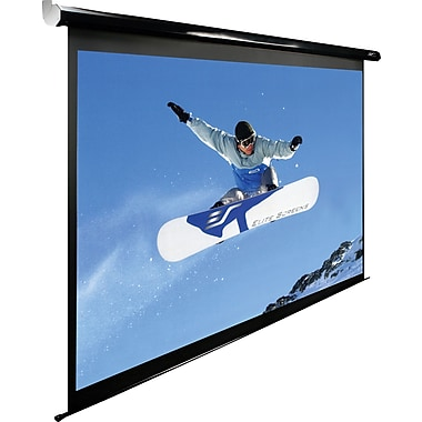 Elite Screens Spectrum Series 125in. Diagonal 16:9 Aspect Mounted Motorized Projector Screen