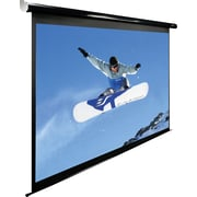 "Elite Screens Spectrum Series 125"" Diagonal 16:9 Aspect Mounted Motorized Projector Screen"