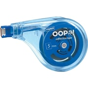 Staples® OOPS!™ Sidewinder Correction Tape, White, 10/Pk