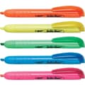 BIC® Brite Liner® Retractable Highlighters, Assorted, 5/Pack