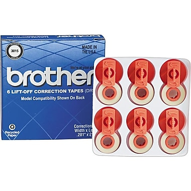 Brother 3015 Lift-Off Correction Typewriter Tape (3015)
