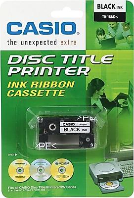 Casio TR18BK Black Cartridge