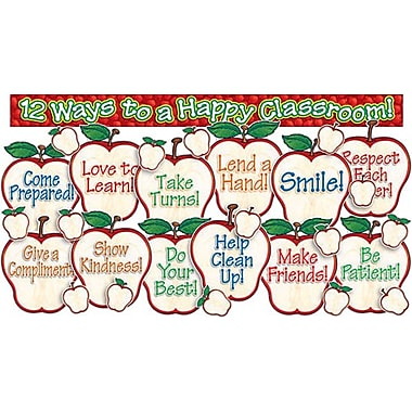 Happy Classroom Apples Bulletin Board