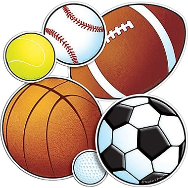 Sport Balls Accent Punch-Outs