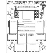 Graphic Organizer Posters: All-About-Me Robot