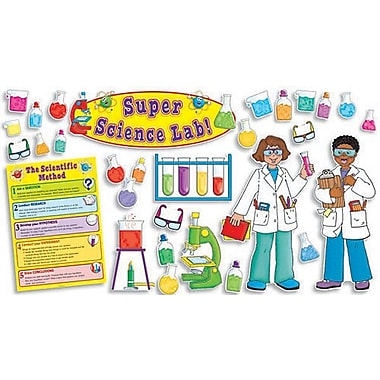 Super Science Lab Bulletin Board