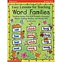 Easy Lessons for Teaching Word Families