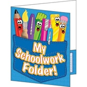 My Schoolwork Folder! Pocket Folder