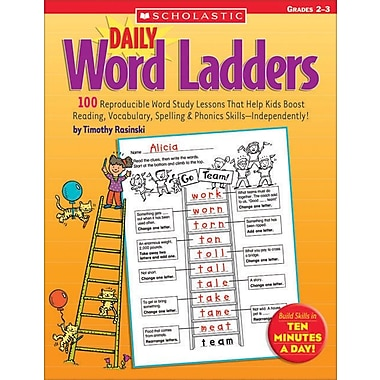 Daily Word Ladders: Grades 2-3