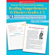 Week-by-Week Homework for Building Reading Comprehension and Fluency: Grades 2-3