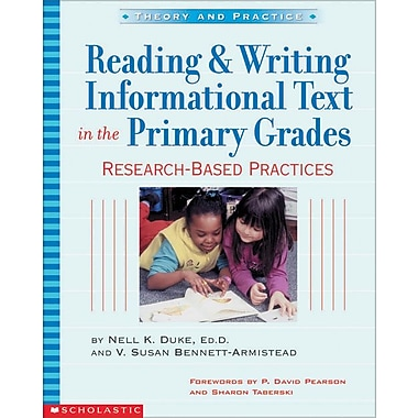 Reading and Writing Informational Text in the Primary Grades