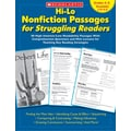 Hi-Lo Nonfiction Passages for Struggling Readers: Grades 4-5