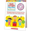 Early Concepts Sing-Along Flip Chart and CD