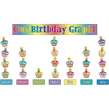 Our Birthday Graph! Bulletin Board