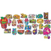 Big Shapes Alphabet Bulletin Board